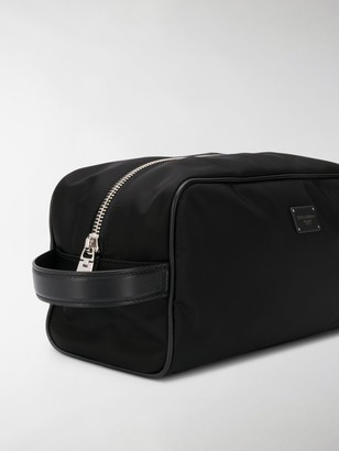 Dolce & Gabbana Zip Wash Bag