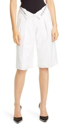 Alexander Wang Flipped Waist Shorts