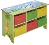 The Well Appointed House Teamson Design Sunny Safari Child's Storage Cubby Base Set-ON BACKORDER UNTIL MID-JUNE 2016
