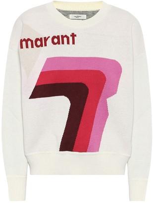 Etoile Isabel Marant Isabel Marant, étoile Klero logo cotton-blend sweater