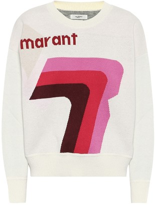 Etoile Isabel Marant Klero logo cotton-blend sweater