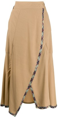 Teija Hame draped skirt