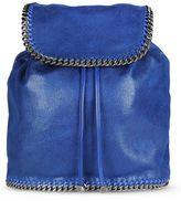 Stella McCartney blue falabella shaggy deer backpack