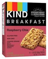 Kind Healthy Grains Raspberry Chia Breakfast Bars 4CT