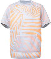 adidas open net layer sweatshirt - men - Cotton/Polyester - XS