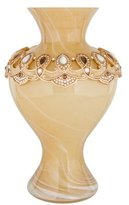 Jay Strongwater Embellished Flower Vase