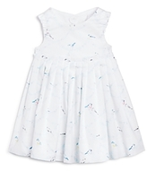 Tartine et Chocolat Girls' Bird Print Cutout Dress - Baby