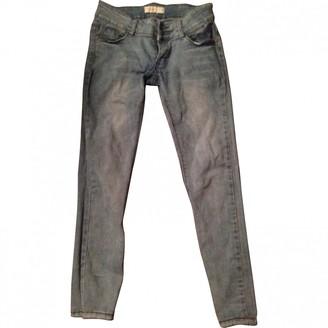 Vivienne Westwood Blue Cotton Jeans