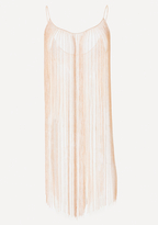 Bebe Chain Fringe Dress