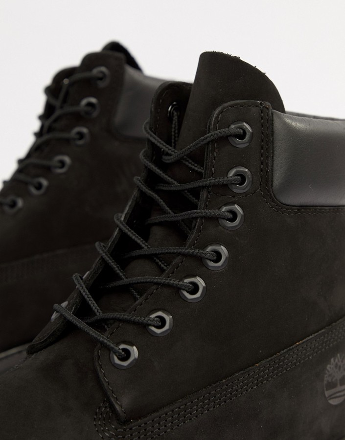 Thumbnail for your product : Timberland classic 6 inch premium boots in black