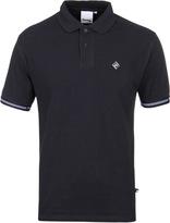 Money Diamond Navy Short Sleeve Polo Shirt