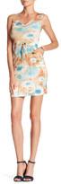 Komarov Sleeveless Drawstring Mini Dress