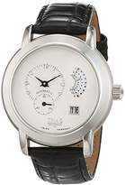 Trias men's Automatic Watch Analogue Display and Leather Strap TR-T21508W