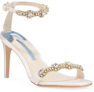 Sophia Webster Aaliyah Mid Crystal Sandals