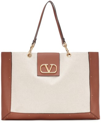 Valentino City Safari Medium canvas tote