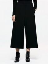Calvin Klein Platinum Belted Wide Leg Pants