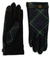 Lauren Ralph Lauren Tartan Plaid Touch Gloves
