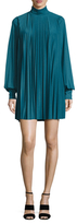 Tracy Reese Pleated Turtleneck Shift Dress
