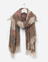 Fat Face Bonnie Boucle Stripe Scarf