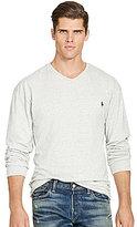 Polo Ralph Lauren Big & Tall Cotton Jersey V-Neck Long-Sleeve Tee