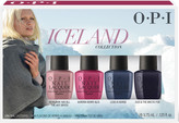 OPI Iceland Collection Classic Nail Lacquer Mini 4 pk
