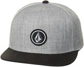 Volcom Quarter Snapback Cap Grey