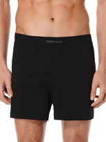 Perry Ellis Solid Knit Boxer Short