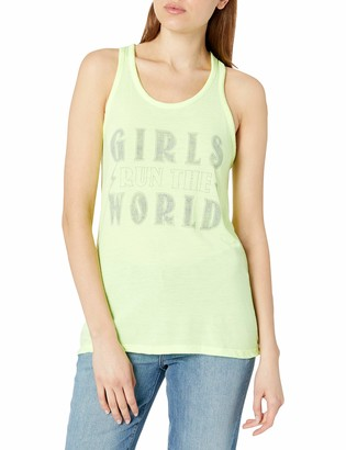 Fifth Sun Junior's Women's Fashion Mesh Back Tank