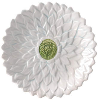 Mikasa Silk Floral Teal Appetizer Plate