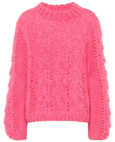 Ganni Julliard mohair and wool sweater