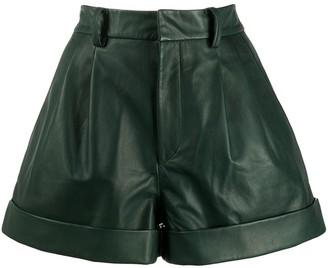 Etoile Isabel Marant pleated waist City shorts