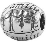 Zable Family Sterling Silver Charm