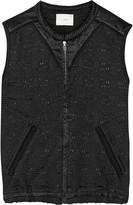 IRO Textured cotton and silk-blend vest