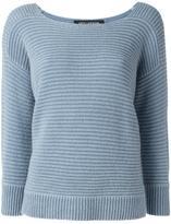 Iris von Arnim chunky knit jumper