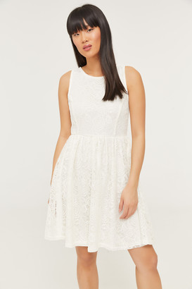 Ardene Lace Skater Dress