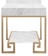 The Well Appointed House Worlds Away Fulton Greek Design Vanity in Gold