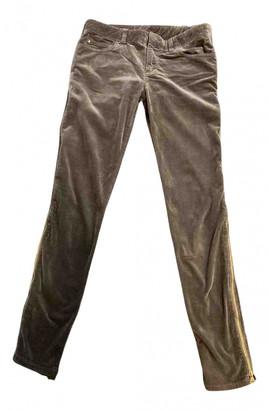 Louis Vuitton Green Cotton Jeans