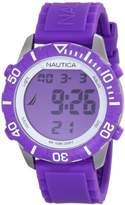 Nautica Women's Nsr N09931G Silicone Quartz Watch