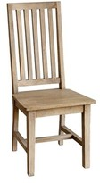 Ophelia Kissling Solid Wood Slat Back Side Chair & Co. Color: Rustic Mango Grey Wash