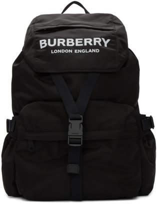 Burberry Black Wilfin Backpack