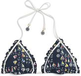 Sperry What Floats Your Boat Triangle Bikini Top