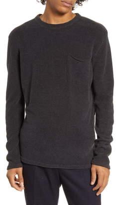 Scotch & Soda Chenille Pocket Crewneck Sweater