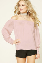 Forever 21 FOREVER 21+ Contemporary Satin Top