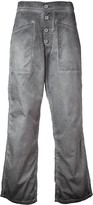 RtA cropped flared jeans