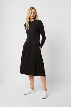 French Connection Sienna Mozart Mix Layered Dress