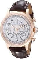 Baume & Mercier Baume Mercier Men's A10007 Capeland Analog Display Swiss Automatic Brown Watch