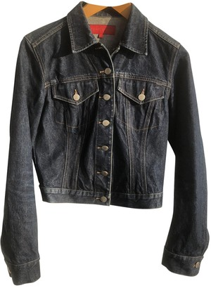 French Connection Navy Denim - Jeans Jacket for Women