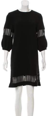 Chanel 2017 Wool Midi Dress