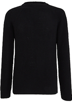 Edwin Purl Sweater, Black