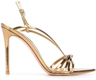 Gianvito Rossi Roselle 115mm slingback sandals